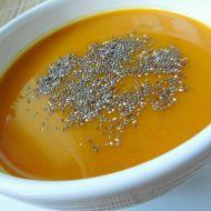 Dýňová polévka s chia semínky recept