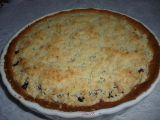 Linecký koláč s tvarohem, borůvkami a drobenkou pro začátečníky ...
