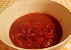 Fazolový guláš s kabanosem recept