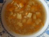 Pohanková polévka s česnekem recept