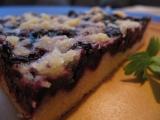 Křehký koláček s borůvkami recept
