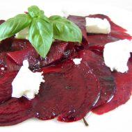 Salát z červené řepy se sýrem recept