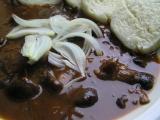 Václavkový guláš recept