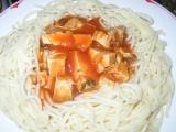 Špagety s masem recept