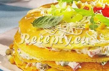 Slaný palačinkový dort recept  moučníky