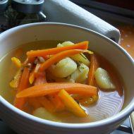 Česneková polévka s mrkví recept