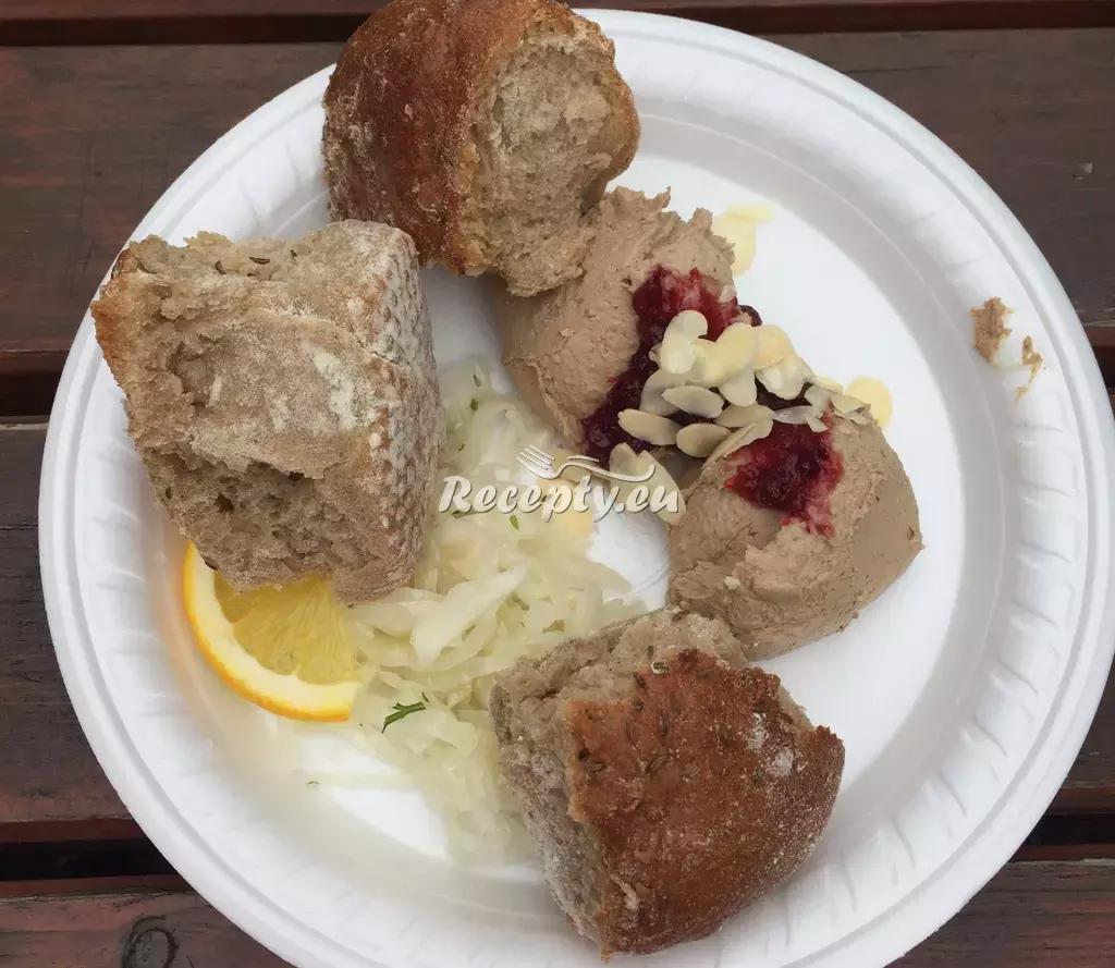 Paštika z kuřecích jater recept  pomazánky