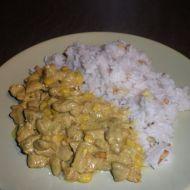 Kuřecí maso se smetanou a kari recept
