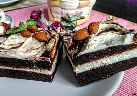 Kakaový dezert s tvarohem a nutelou recept
