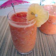 Džus z čerstvého ovoce recept
