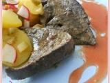 Vepřová játra s rybízovou omáčkou recept