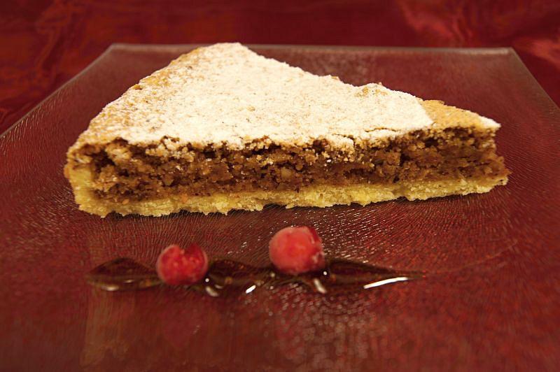 Ořechový koláč pro svatého Jakuba recept