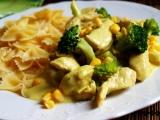 Kuřecí soté s brokolicí recept