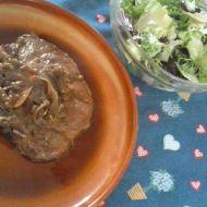 Vepřová kotleta s cibulí recept