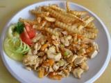Kuřecí maso s kořenovou zeleninou recept