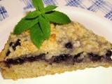Borůvkový máslový koláč recept