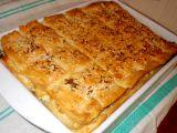 Slaný koláč s bůčkovou roládou a pórkem recept