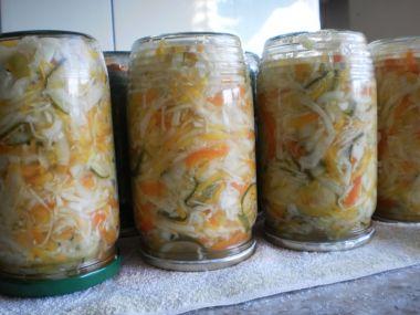 Domácí zeleninová čalamáda
