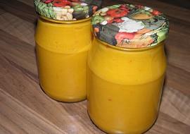 Cuketovo  dýňová hořčice recept