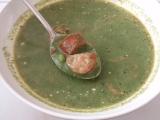 Pikantní špenátová polévka recept