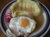 Roštěná se šunkou a vejcem recept