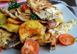 Mořská treska zapečená s bramborem a zeleninou (aneb 3 v 1 ...