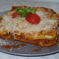 Lasagne s mletým masem a rajčaty recept