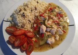 Kuřecí nudličky se zeleninou a houbový kuskus recept  TopRecepty ...