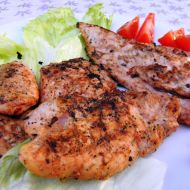 Krůtí steak z grilu recept