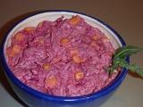 Salát z červené řepy s kukuřicí recept
