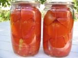 Sterilovaná rajčata na všechno recept
