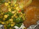 Přírodní hovězí plátky se zeleninkou recept