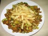Čína ze sójového masa a Šmakouna recept