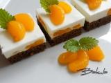 Mandarinkové řezy s kefírem recept