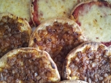 Plnene chlebove placky recept