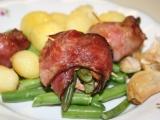 Závitky z panenky ve slaninovém župánku recept