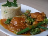 Kuřecí s harissou a zeleninou recept