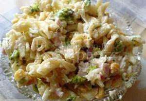 Sojčí těstovinový salát