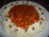 Hovězí ragů se zeleninou recept