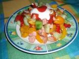 Makedonský salát recept