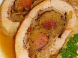 Kuřecí roláda-se zelím a klobásou recept