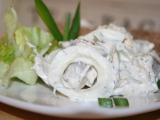 Švédský rybí salát recept
