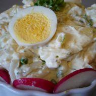 Bramborový salát s vejci recept