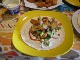 Tortilla s kuřecím masem recept