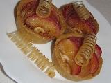 Jablíčka luxusně Mandlové koláčky s jablky a karamelem recept ...
