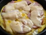 Omeleta ze zbylých kynutých knedlíků recept