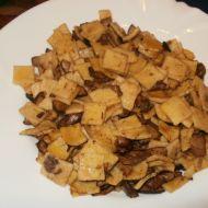 Domácí fleky s houbami recept