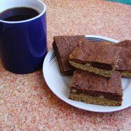 Dvoubarevný koláč z cukety recept