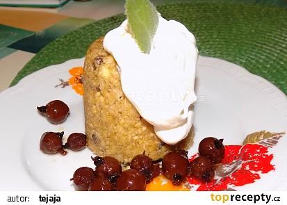 Vločkový mugcake s rozinkami a tvarohem recept