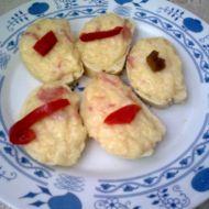 Pikantní sýrové chlebíčky recept